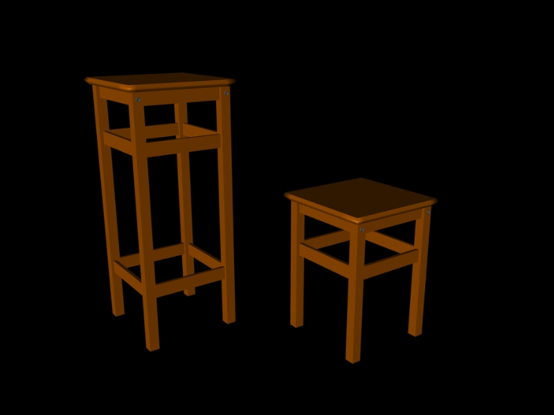 Ikea edition oddvar barhocker und hocker free 3d model for Barhocker 3d download