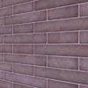 Brick cladding, clinker-style