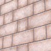 Brick cladding, flamed