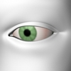 Eye green pastel