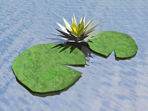 Aquatic Plant 02 Free 3D Model Download by 3dxo com