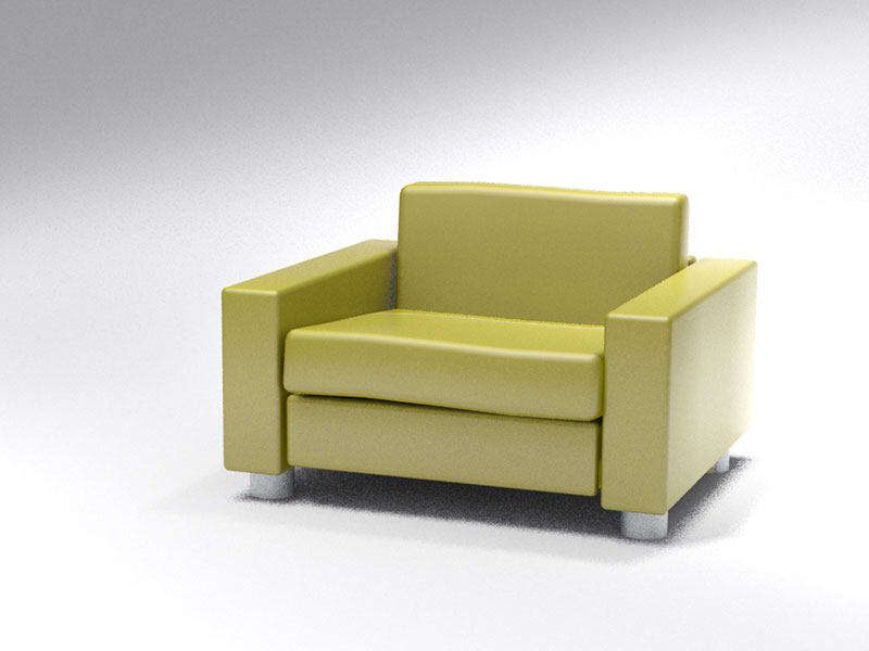 3D 3D Model Download Armchair 3