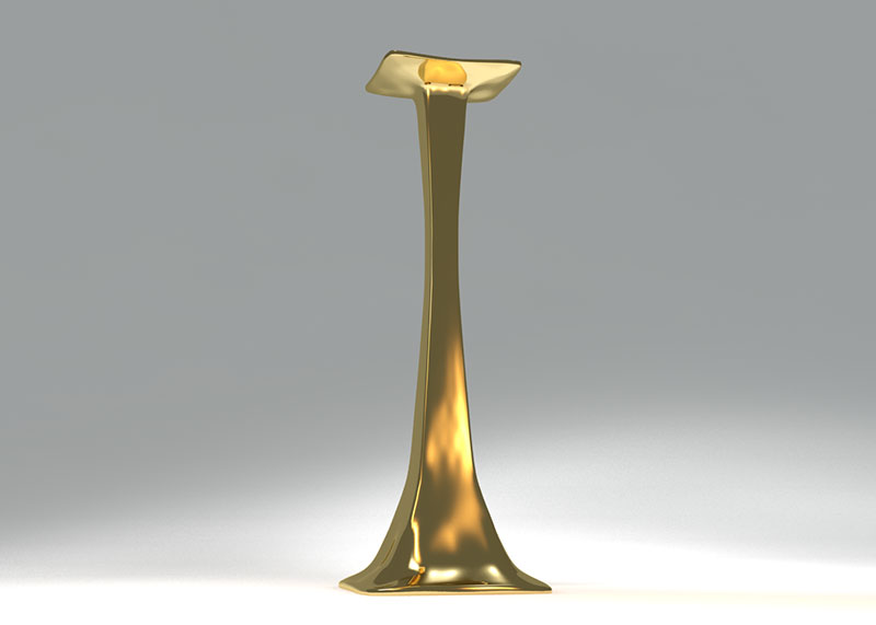 3D 3D Model Download Candle Stand 7