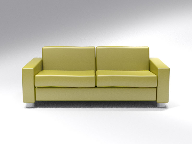 3D 3D Model Download Couch 1