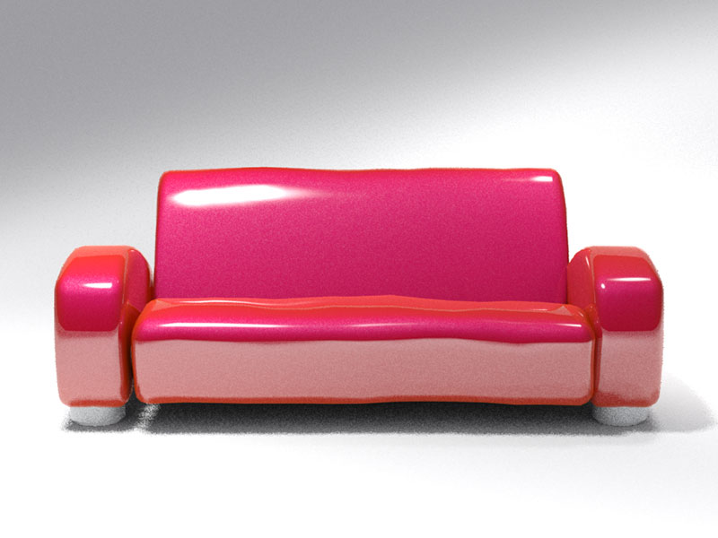 3D 3D Model Download Couch 2