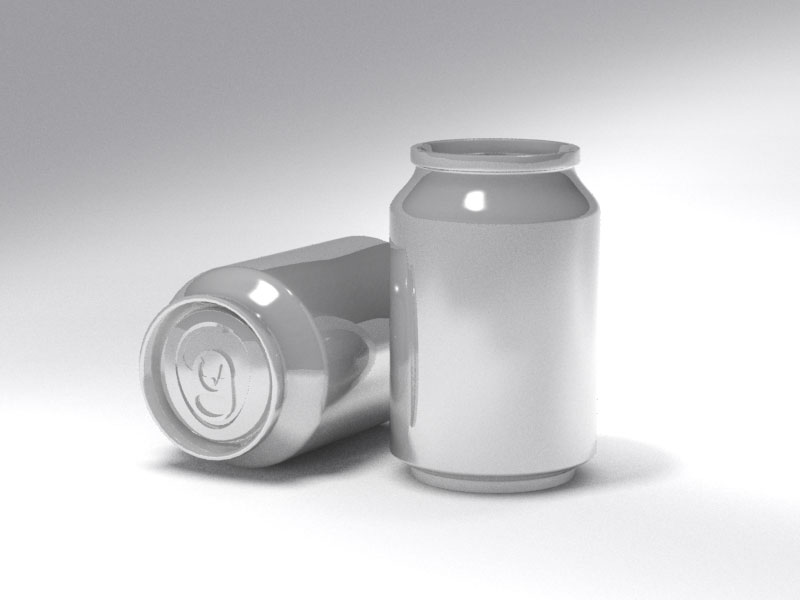 3D 3D Model Download Beverage can