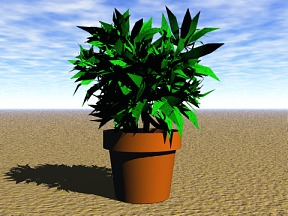 3D 3D Model Download Plant 01