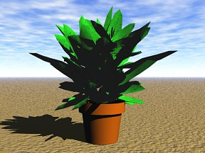 3D 3D Model Download Plant 02
