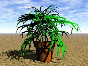 3D 3D Model Download Plant 06