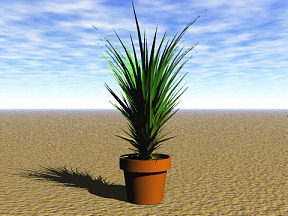 3D 3D Model Download Plant 07
