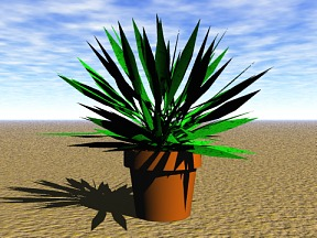 3D 3D Model Download Plant 08