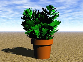3D 3D Model Download Plant 09