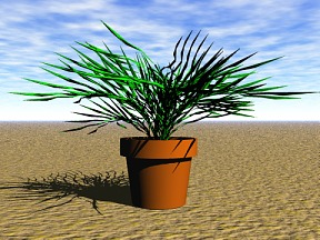 3D 3D Model Download Plant 10