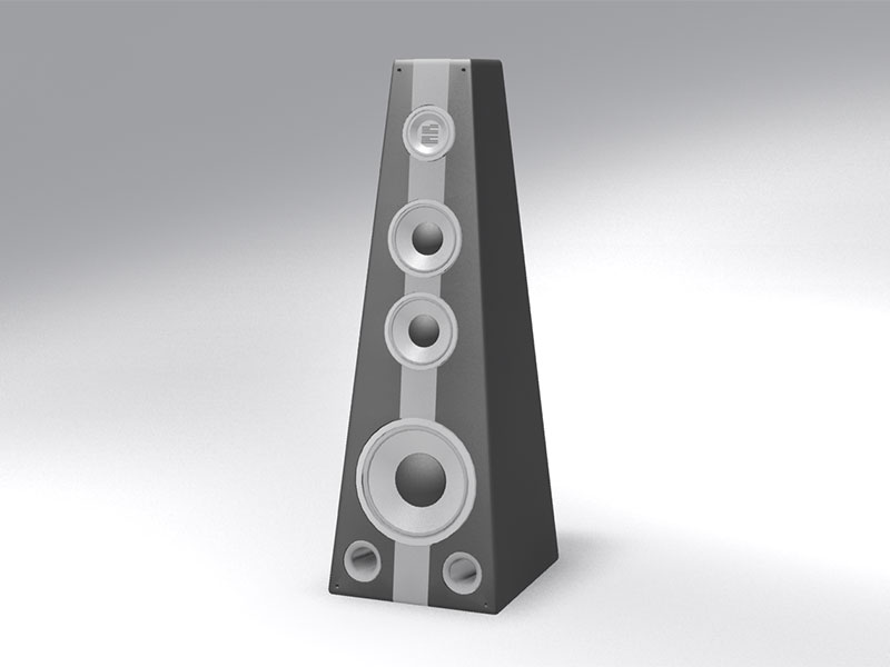 3D 3D Model Download Speaker Box