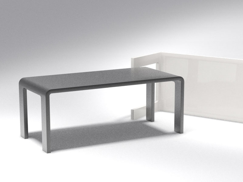 3D 3D Model Download Modern Table