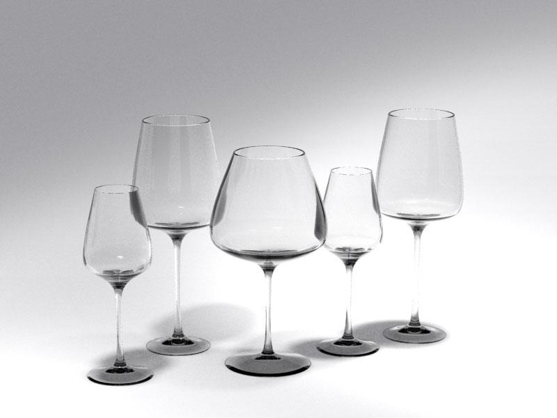 3D 3D Model Download Wine Glass 3