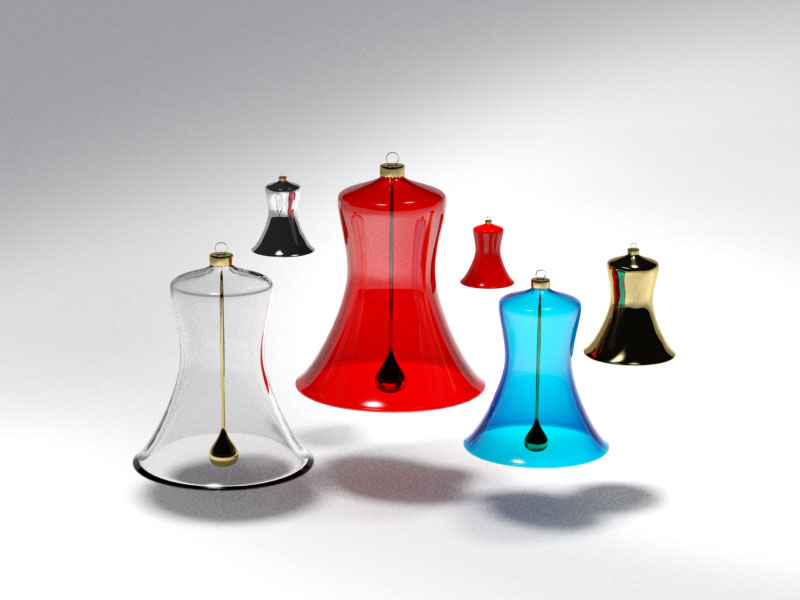 3D 3D Model Download Christmas bell