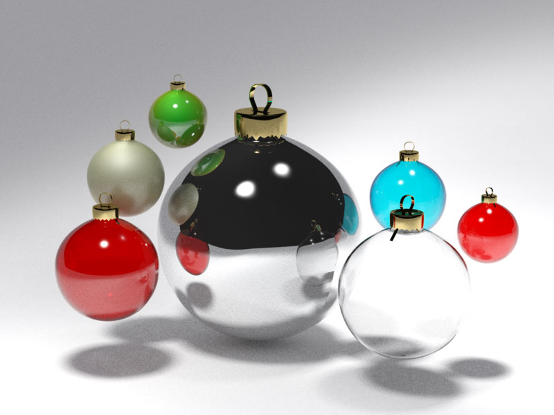 3D 3D Model Download Christmas tree ball 7