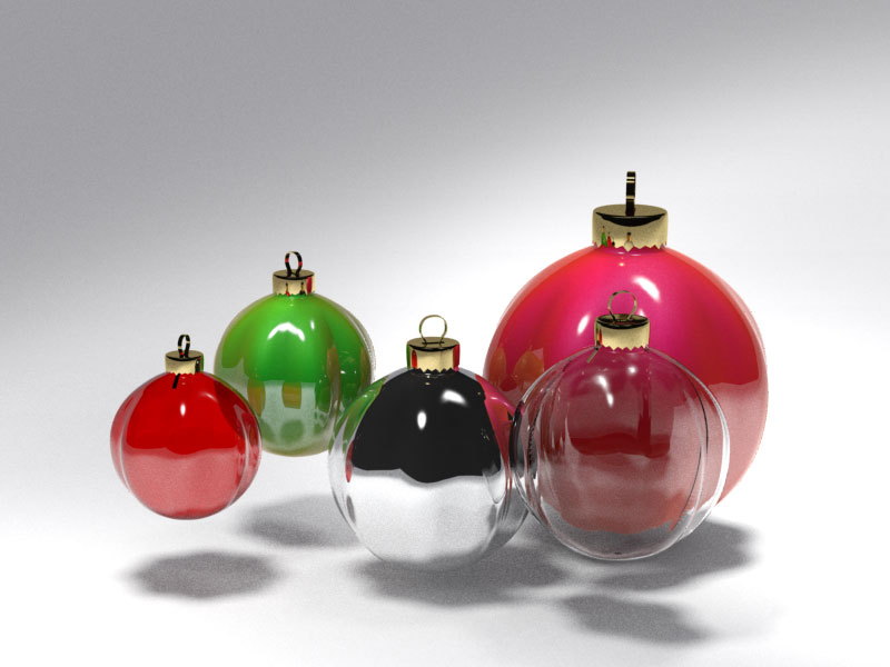 3D 3D Model Download Christmas tree ball 8