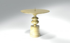 Candle Stand 2 3D Model
