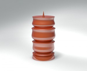 Candle Stand 9 3D Model