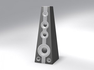 Speaker Box 3D Model