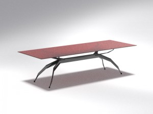 Modern futuristic Table 3D Model
