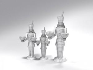 Miner Free 3D Model Download by 3dxo com