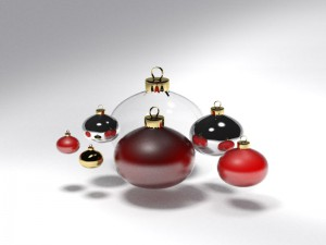 Christmas tree ball 5 3D Model