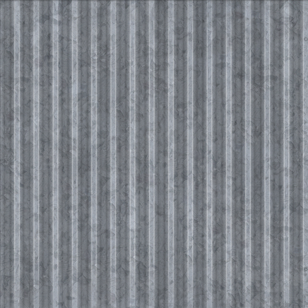 Corrugated Panel Galvanized Free Texture Download By 3dxo Com