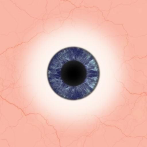 Dark Blue Eyes Natural