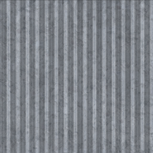 Corrugated Panel, galvanized Texture
