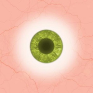 Eye green light Texture