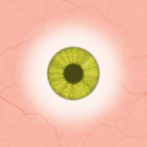 Eye yellow green light Texture
