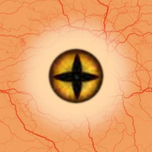 Eye yellow star Texture