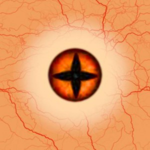 Eye red star Texture