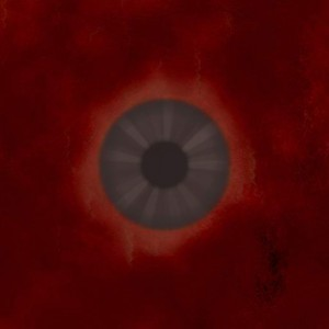 Eye grey dark bloodily Texture