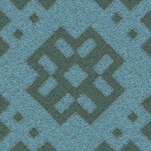 Patterned Carpet. Texture